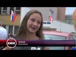 Reportáže o našej škole